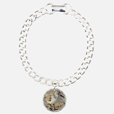 Sand Piper and Seashells Bracelet