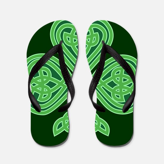 Celtic Shamrock - St Patricks Day Flip Flops