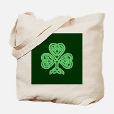 Celtic Shamrock - St Patricks Day Tote Bag