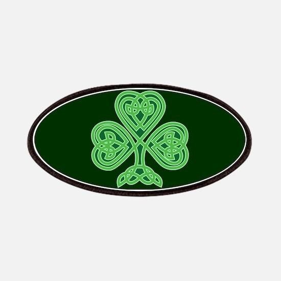 Celtic Shamrock - St Patricks Day Patch