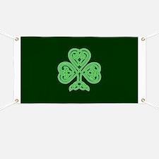 Celtic Shamrock - St Patricks Day Banner