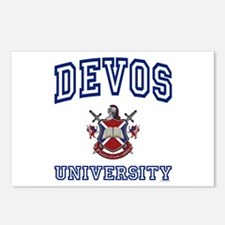 DEVOS University Postcards (Package of 8)