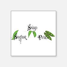 Sugar Snap Peas Sticker
