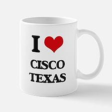 I love Cisco Texas Mugs