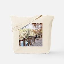 Isolative Peace & Beauty Tote Bag
