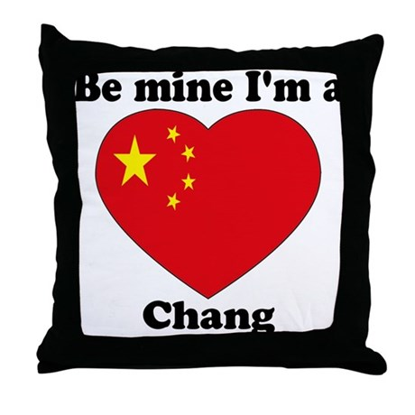 Chang, Valentine's Day Throw Pillow