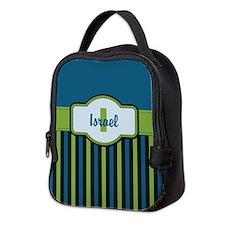 Stripes2015I2 Neoprene Lunch Bag