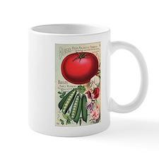 Majestic Tomato and Morning Star Peas Mug