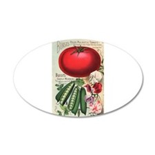 Majestic Tomato and Morning Wall Decal