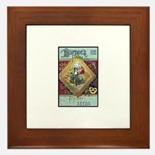 Farm Annual 1886 Framed Tile