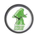 Bigfoot Silhouette Wall Clock - Own a piece of this cryptid mystery, own your Big Foot T-shirt and other cool Big Foot gift items today! 30-day satisfaction & money back guarantee!