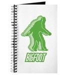 Bigfoot Silhouette Journal - Own a piece of this cryptid mystery, own your Big Foot T-shirt and other cool Big Foot gift items today! 30-day satisfaction & money back guarantee!