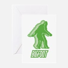 Bigfoot Silhouette Greeting Cards (Pk of 10)
