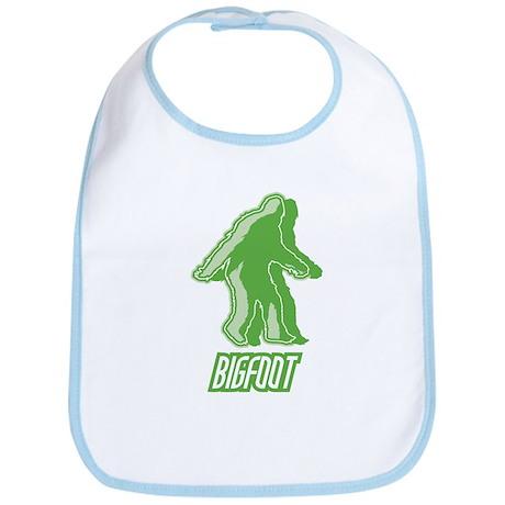 Bigfoot Silhouette Bib