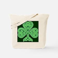 Celtic Shamrock - St Patricks Day Tote Bag