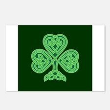 Celtic Shamrock - St Patr Postcards (Package of 8)