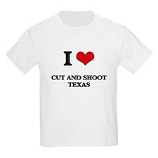 I love Cut And Shoot Texas T-Shirt