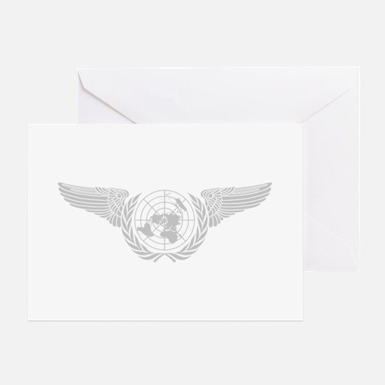 United Nations Forces2 Greeting Card