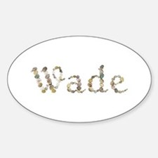 Wade Seashells Oval Decal