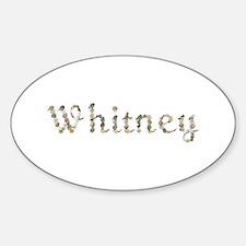 Whitney Seashells Oval Decal