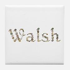 Walsh Seashells Tile Coaster