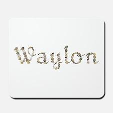 Waylon Seashells Mousepad