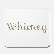 Whitney Seashells Mousepad