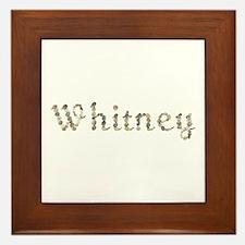 Whitney Seashells Framed Tile
