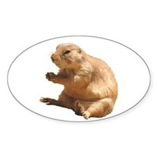 Prairie Dog Oval Decal