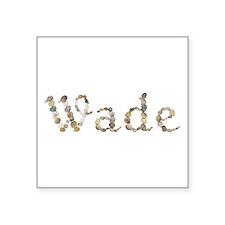 Wade Seashells Square Sticker