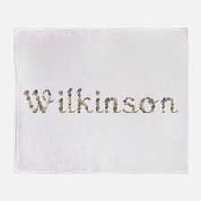 Wilkinson Seashells Throw Blanket