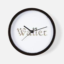 Waller Seashells Wall Clock