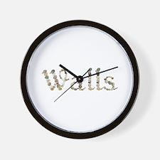 Walls Seashells Wall Clock