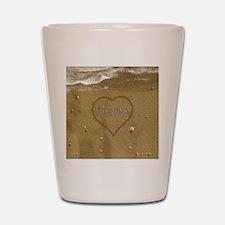 Virginia Beach Love Shot Glass