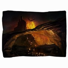 Gothic Dragon Attack Pillow Sham