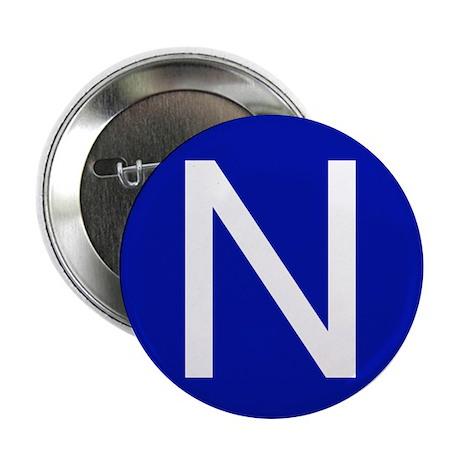 """San Francisco N 2.25"""" Button (100 pack)"""