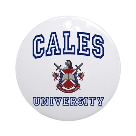 CALES University Ornament (Round)