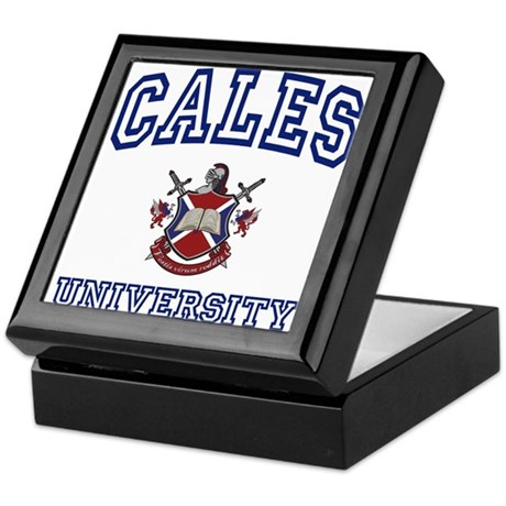 CALES University Keepsake Box