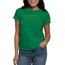 Irish Handcuffs Women's Dark T-Shirt