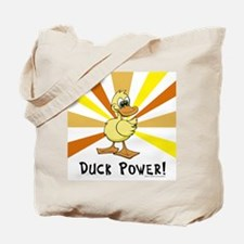 Duck Power Tote Bag