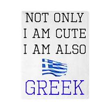 Cute Greek Twin Duvet