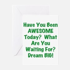 Be AWESOME Greeting Cards