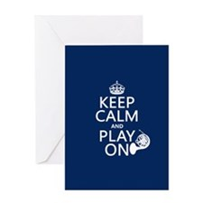 Play On (horn) Greeting Cards