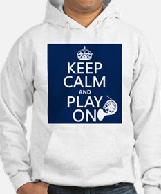 Play On (horn) Jumper Hoody