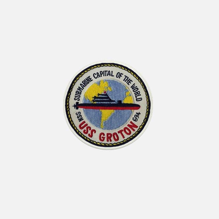 USS GROTON Mini Button