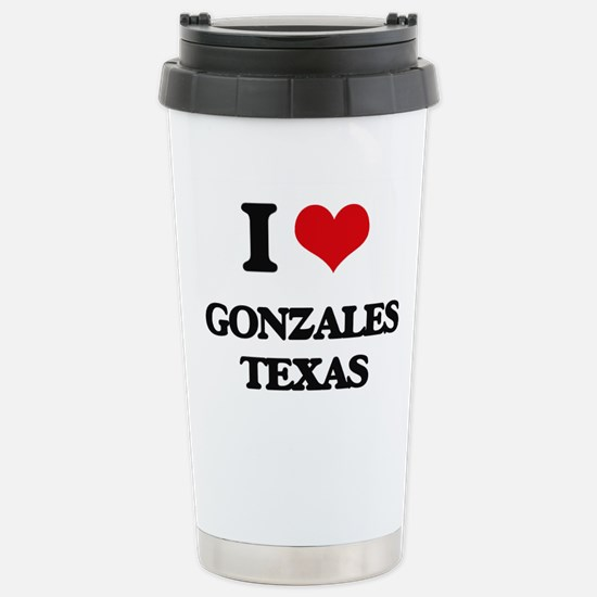 I love Gonzales Texas Stainless Steel Travel Mug