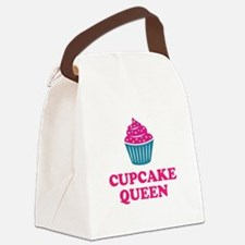 Cupcake baking queen Canvas Lunch Bag