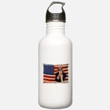 Uncle Sam Pointing Retro Distressed Sports Water B