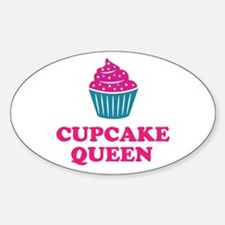 Cupcake baking queen Decal