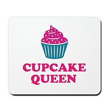Cupcake baking queen Mousepad